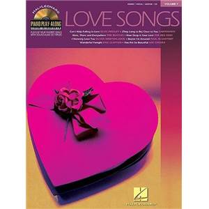COMPILATION - PIANO PLAY ALONG VOL.007 LOVE SONGS + CD