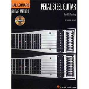 HELMS JOHNIE - PEDAL STEEL GUITAR TAB. + CD