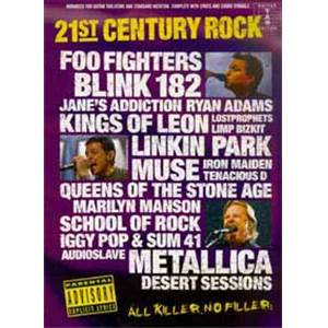 COMPILATION - 21ST CENTURY ROCK VOL.3 GUITAR TAB.