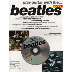 BEATLES THE - PLAY GUITAR WITH...VOL.2 + CD
