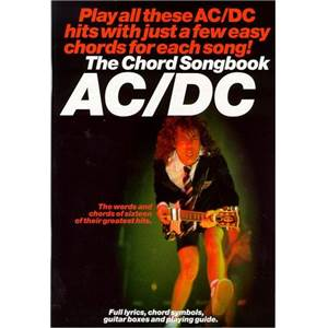 AC/DC - CHORD SONGBOOK 19 TITRES