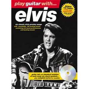 PRESLEY ELVIS - PLAY GUITAR WITH...2002 EDITION + CD
