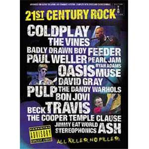 COMPILATION - 21ST CENTURY ROCK VOL.1 GUIT.TAB