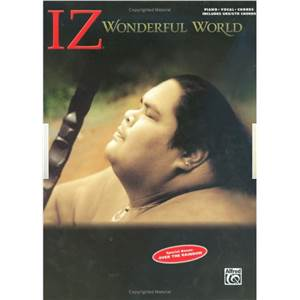 ISRAEL IZ KAMAKAWIWO'OLE - WONDERFUL WORLD P/V/G/UKULELE