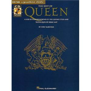 QUEEN - BEST OF SIGNATURE LICKS + CD