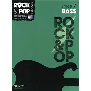 COMPILATION - TRINITY COLLEGE LONDON : ROCK & POP GRADE 7 FOR BASS + CD