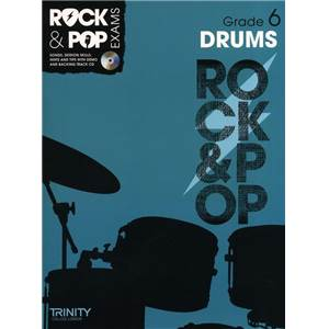 COMPILATION - TRINITY COLLEGE LONDON : ROCK & POP GRADE 6 FOR DRUMS + CD