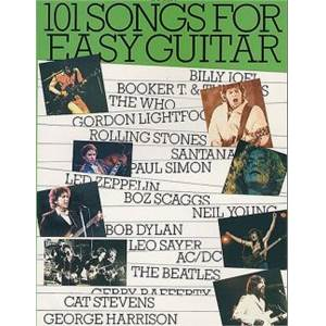 COMPILATION - 101 SONGS FOR EASY GUITAR VOL.4