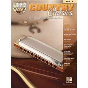 COMPILATION - HARMONICA PLAY ALONG VOL.5 COUNTRY CLASSICS + CD