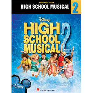 DISNEY - HIGH SCHOOL MUSICAL VOL.2 VOCAL SELECTION P/V/G ÉPUISÉ