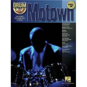 COMPILATION - DRUM PLAY ALONG MOTOWN VOL.18 + CD