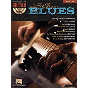 COMPILATION - GUITAR PLAY ALONG VOL.094 SLOW BLUES + CD