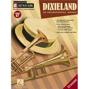 COMPILATION - JAZZ PLAY ALONG VOL.087 DIXIELAND JAZZ + CD