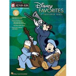 DISNEY - JAZZ PLAY ALONG VOL.093 DISNEY FAVORITES + CD