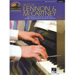 LENNON / MCCARTNEY - PIANO PLAY ALONG VOL.096 BEST OF + CD