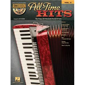 COMPILATION - ACCORDION PLAY ALONG VOL.02 ALL TIME HITS + CD