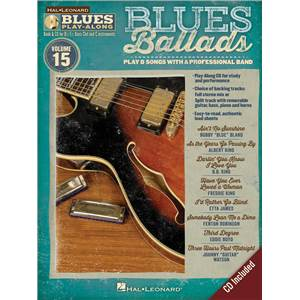COMPILATION - BLUES PLAY-ALONG VOL.15 : BLUES BALLADS + CD