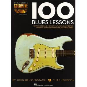 JOHNSON CHAD / HEUSSENSTAMM JOHN - 100 BLUES LESSONS + 2 CD