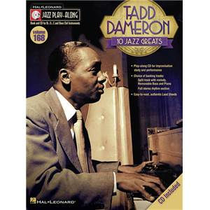 DAMERON TADD - JAZZ PLAY ALONG VOL.168 + CD