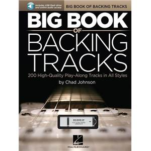 JOHNSON CHAD - BIG VOL.OF BACKING TRACKS 200 CHORD PROGRESSIONS + USB CARD