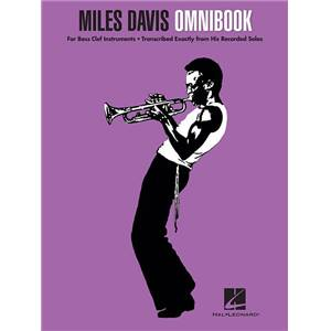 DAVIS MILES - OMNIBOOK FOR BASS CLEF INSTRUMENTS
