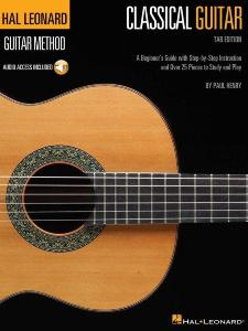 HENRY PAUL - HAL LEONARD CLASSICAL GUITAR METHOD TAB EDITION + AUDIO ONLINE ACCESS