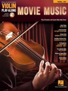 COMPILATION - VIOLIN PLAYALONG VOL.057 MOVIE MUSIC + ONLINE AUDIO ACCESS