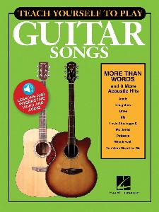 "TEACH YOURSELF TO PLAY ""MORE THAN WORDS"" AND 9 MORE ACOUSTIC HITS + ONLINE AUDIO AND VIDEO ACCESS"