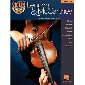 LENNON / MCCARTNEY - VIOLIN PLAY ALONG VOL.019 + CD