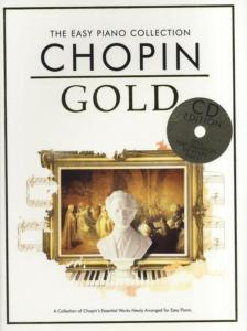 CHOPIN - EASY GOLD CHOPIN  ESSENTIAL PIANO COLLECTION + CD