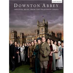 LUNN JOHN - DOWNTON ABBEY EASY PIANO