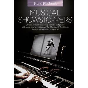 COMPILATION - PIANO PLAYBOOK MUSICAL SHOWSTOPPERS P/V/G