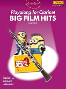 COMPILATION - GUEST SPOT BIG FILM HITS CLARINET + DOWNLOAD CARD