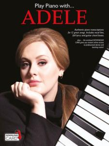 ADELE - PLAY PIANO WITH UPDATE + ONLINE AUDIO ACCESS