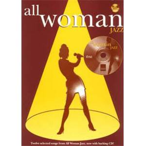 COMPILATION - ALL WOMAN JAZZ P/V/G + CD
