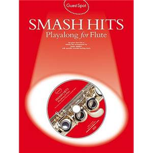 COMPILATION - GUEST SPOT SMASH HITS PLAY ALONG FOR FLUTE + CD