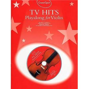 COMPILATION - GUEST SPOT TV HITS POUR VIOLON + CD