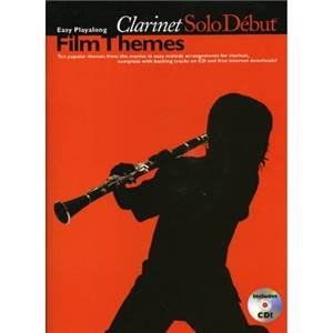 COMPILATION - SOLO DEBUT FILM THEMES CLARINET + CD