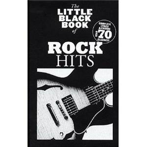 COMPILATION - LITTLE BLACK SONGBOOK ROCK HITS PLUS DE 70 CHANSONS FORMAT POCHE