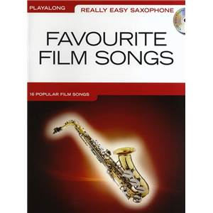 COMPILATION - REALLY EASY SAXOPHONE FAVOURITE FILM SONGS + CD