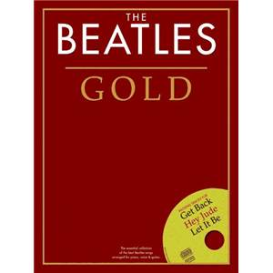 BEATLES THE - GOLD ESSENTIAL PIANO COLLECTION + CD