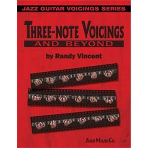 VINCENT RANDY - 3 NOTE VOICINGS AND BEYOND
