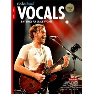 COMPILATION - ROCKSCHOOL VOCALS MALE GRADE 5 + DOWNLOAD CARD