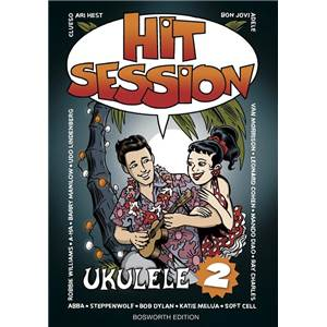 COMPILATION - HIT SESSION UKULELE VOL.2 MELODIC LINE AND CHORDS