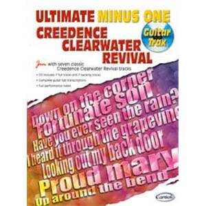 CREEDENCE CLEARWATER REVIVAL - ULTIMATE MINUS ONE GUITAR TRAX + CD