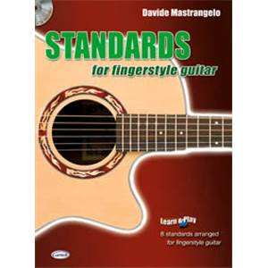 MASTRANGELO DAVIDE - STANDARDS FINGERSTYLE GUITAR VOL.1 + CD Épuisé