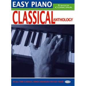 CONCINA FRANCO - EASY PIANO CLASSICAL ANTHOLOGY