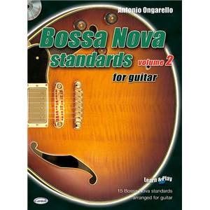 COMPILATION - BOSSA NOVA STANDARDS FOR GUITAR VOL.2 + CD