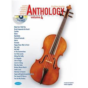 COMPILATION - ANTHOLOGY VIOLON VOL.4 24 ALL TIME FAVORITES + CD