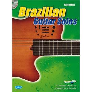 COMPILATION - BRAZILIAN GUITAR SOLOS + CD